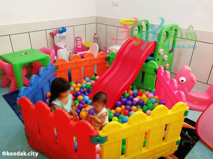مرکز فروش سرسره پلاستیکی کودک