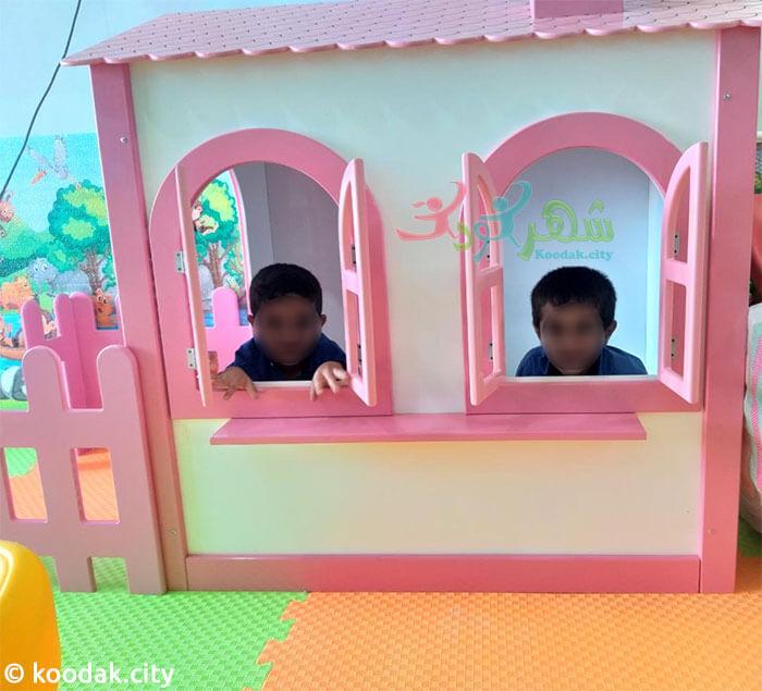 خرید اینترنتی کلبه بازی کودک چوبی