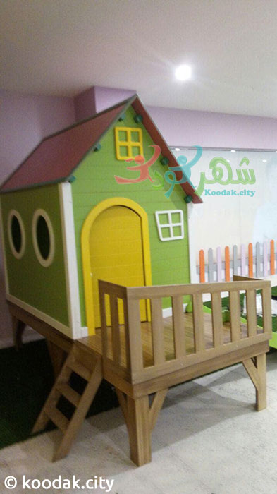 خرید کلبه چوبی کودک
