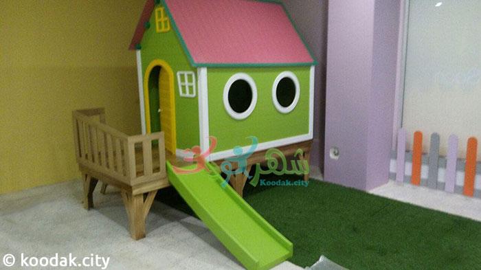 عکس کلبه چوبی کودک