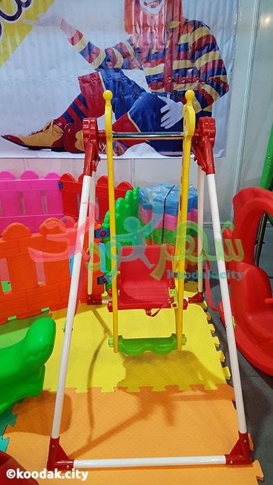 قیمت تاب کودک مانلی تویز مدل زرافه