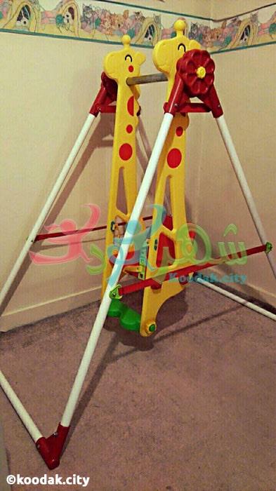 تاب بازی کودکان مانلی تویز مدل زرافه
