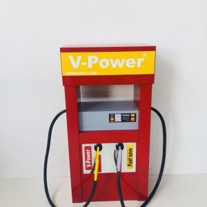 پمپ بنزین کودک چوبی