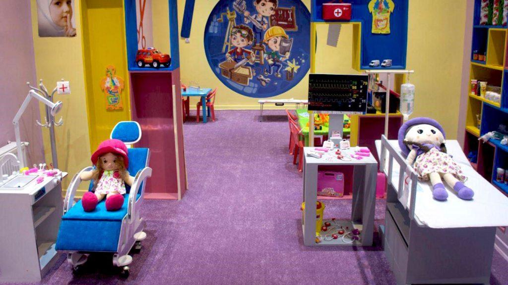 لیست تجهیزات خانه مشاغل کودک