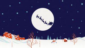 تزیین مهد کودک برای کریسمس