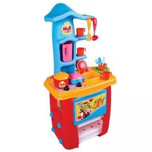 آشپزخانه کودک پلاستیکی زرین مدل کلبه
