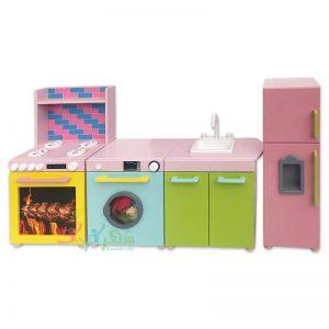 آشپزخانه کودک ۴ تکه فانتزی